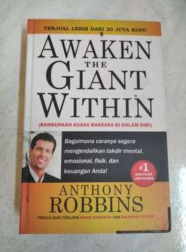 Buku Hard Cover 2nd AWAKEN THE GIANT WITHIN