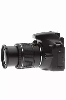 Nikon DSLR camera on rent