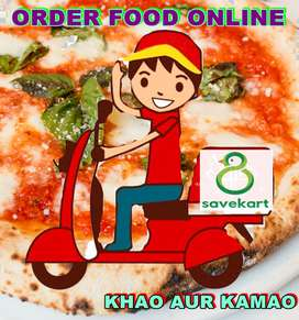 online food delivery office work