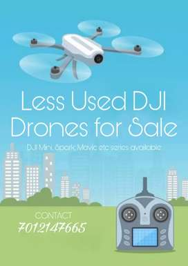 CAMERA DRONES FOR SALE (LESS USED)