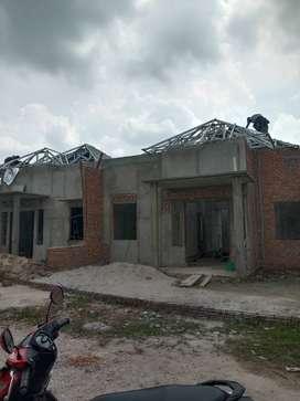 Plafon PVC dan atap baja ringan