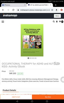 Occupational therapy for Adhd and Autism kids