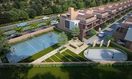 2BHK Row House with Resort Feel in a Europe theme is available for sel