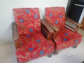 Sofa set  sag wood