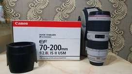 Canon 70-200 f/2.8 IS II L USM Lens