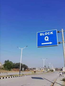 5 marla plot for sale in Q Block new city ph2