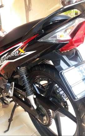 JUAL MOTOR HONDA SUPRA X 125 TAHUN 2015