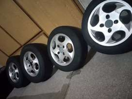 Alloy Rims.  13 Size with tire