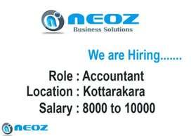 Accountant at Neoz Kottarakara
