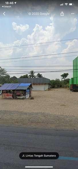 Dijual tanah strategis pinggir jalan raya