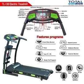 Alat Fitness Treadmill Elektrik TL-130 motor 2hp