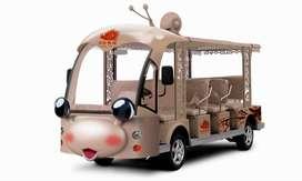 OKT jual kereta wisata karakter odong 2 kincir mini full aksesoris