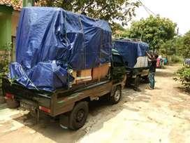 Antar kirim barang & jasa pindahan sewa mobil bak mobil pick up losbak