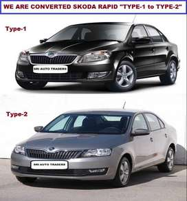 "*We Are Converted Skoda Rapid ""Type-1 to Type-2"""