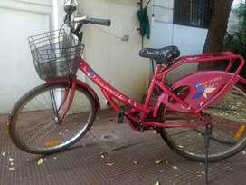 Hero girl's bicycle