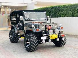 Open jeep new modified