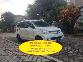 NEW XENIA 1.3 X / 2014 / 107 JT