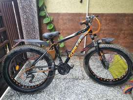 Mind conditon gear bicycle with dual disc brake for sale