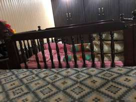 Baby bed complete wood