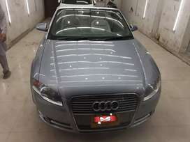 Audi A4 convertable 4 seater 2 door cuope