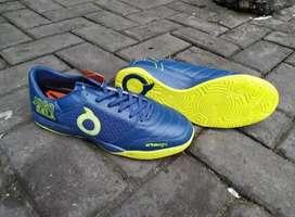 Sepatu Futsal ORI Ortuseight Jogosala Graffity Navy Lime Green