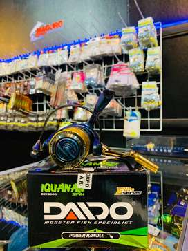 Reel/Real/Rel Daido Iguana 3000 PowerHandle Recommended pancingan