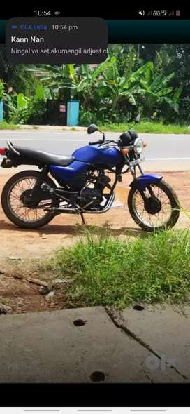 Yamaha libero modified condition bike