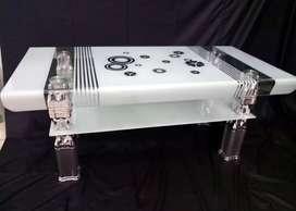 Meja Tamu Kaca Tekuk Importa CT - IMP M02 New Kaca Tempered Glass