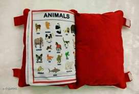 Kids pillow with creative learning l COD with free home delivery