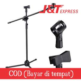 TaffSTUDIO Tripod Holder Mikrofon Pro 2 Klip - NB-107
