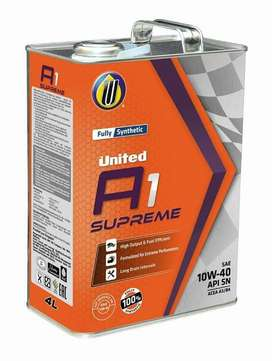 United A1 Supreme 10W-40 Fully Synthetic Engine Oil