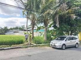 Tanah Murah di Jongke Jl. Palagan Km.7 Tepi Jalan Besar Belakang Hyatt