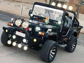 Open heavy look modified willy jeep
