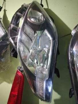 Headlamp lampu depan alphard 2012 smok kiri