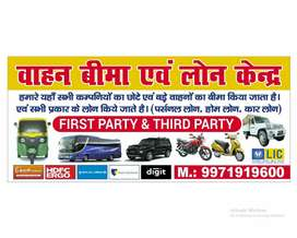 Insurance of any type of vehicle