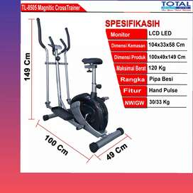 sepeda statis elliptical crostrainer TL-8505 D-81