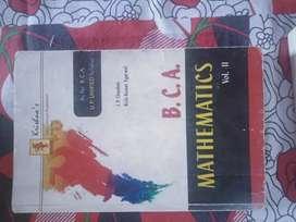 BCA mathematics volume 2