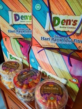 Paket Kue/ Hampers Lebaran Free Ongkir, Free Box. Bandung.