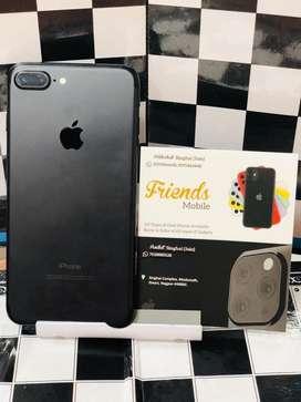 I phone 7 plus 128 gb matt black (fixx price)