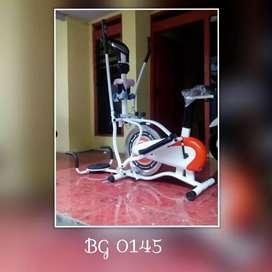 Sepeda Statis Orbitrack Bike // Bourguis AQ 08M05