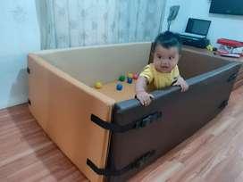 Kimo playmat bumper bed - box matras bermain bayi - playmat bumper mat
