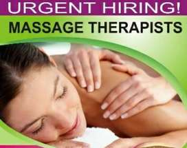 spa job for young girls & housewife
