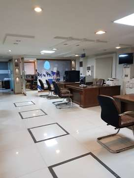 Corporate furnished Office Space 3200 Sq Feet in Blue Area