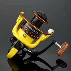 LIEYUWANG Reel Pancing HD6000 12 Ball Bearing - Black/Yellow