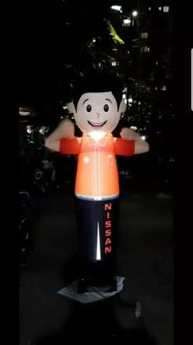 Balon promosi sky dancer untuk promosi perusahaan
