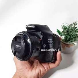 Canon 600D Mulus Fullset