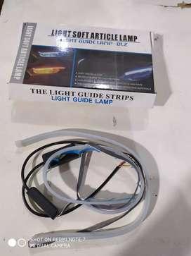 Light guide lamp ) lampu running / unit aja