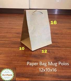 Paperbag polos paper bag coklat tas kertas