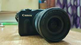 Canon Eos M SLR mirrorless with 18-55mm lens