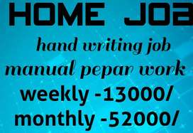 Good hand writing Best income